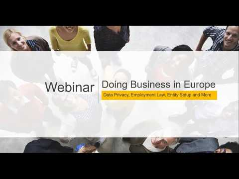 International Expansion: Doing Business in Europe