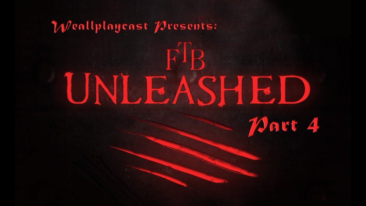 FTB Unleashed Ep 4 Unlimited MJ Power Tee Hee