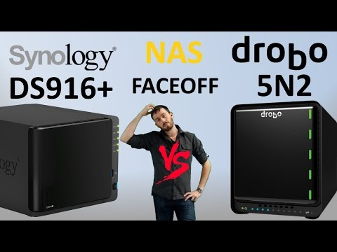 The Synology vs  Drobo. The DS916+ NAS versus the 5N2 NAS - Which one deserves your data