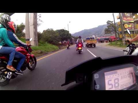 Club Gixxer Medellín - Salida a Antioquia Tropical Club