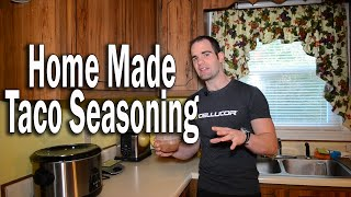 Home Made Taco Seasoning