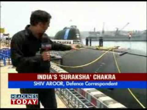 Headlines Today report on induction of INS Chakra nuclear submarine