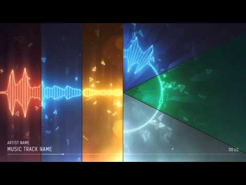 Audio Spectrum Music Visualizer | After Effects Template | VideoHive Project Files