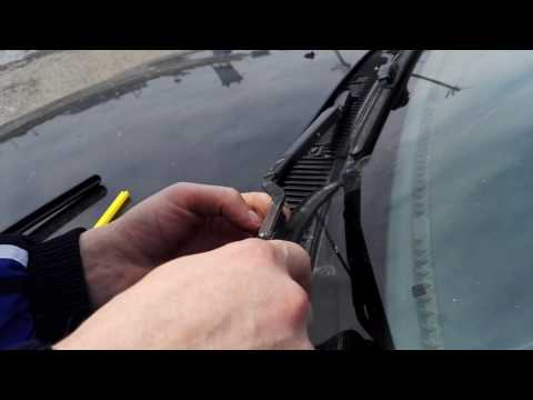 Замена дворников (щеток стеклоочистителя) на Toyota Carina