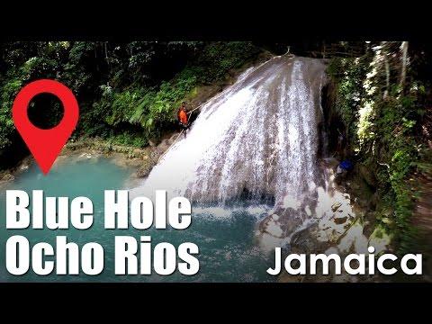 Blue Hole Ochi Jamaica River Waterfalls Caves