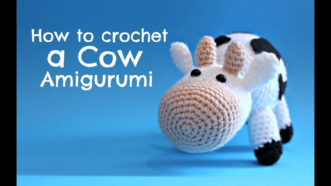 Cow Amigurumi - MooMoo Cow - Free Crochet Pattern | Craft Passion | 720x1280