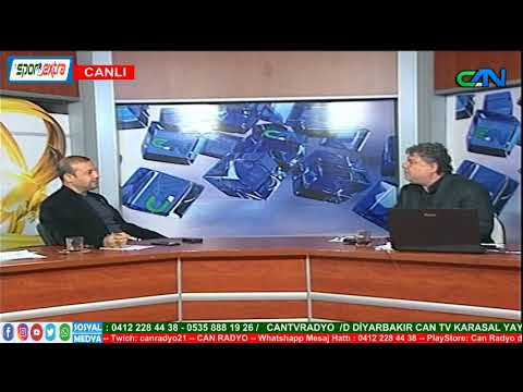 DİYARBAKIR CAN TV - SPOR EXTRA PROGRAMI / 10.12.2019