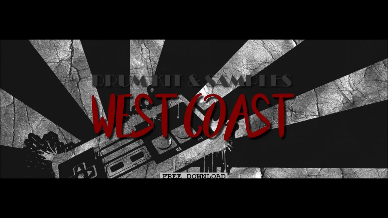 west coast drum kit free download