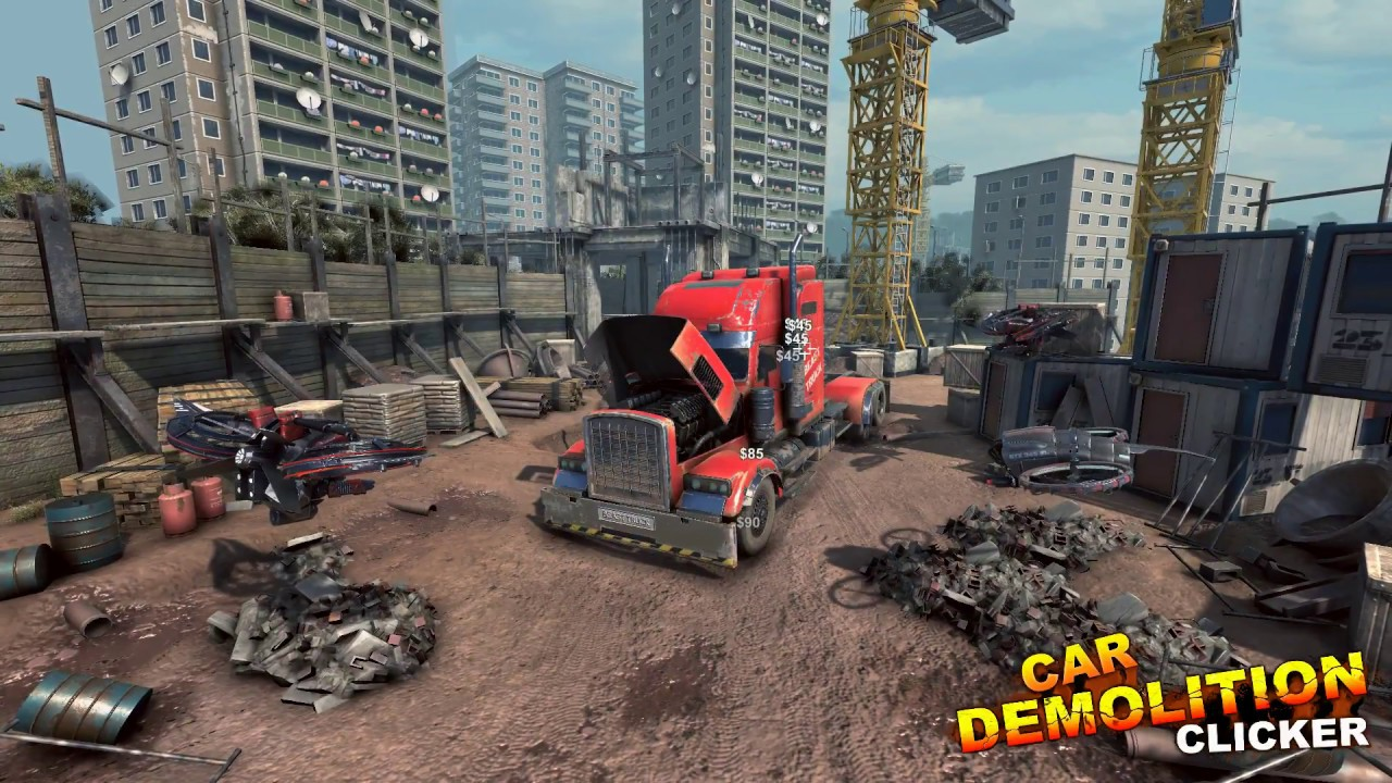 Car Demolition Clicker Game