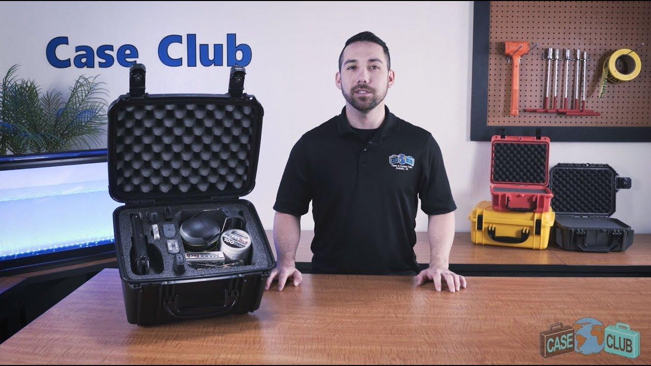 Case Club 1 Pistol & Accessory Case  - Overview - Video