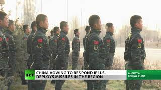 China warns US to stop missile site shopping
