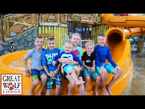 24 Hours with 6 Kids at the Great Wolf Lodge