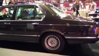 The first BMW 7 series - the E23 BMW 745i top model