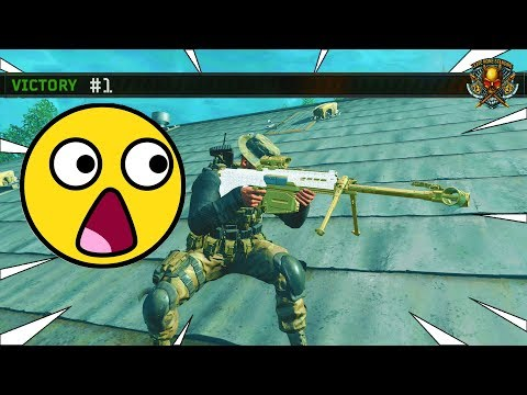 YOU WON'T BELIEVE WHAT I DID FIRST GAME ON ALCATRAZ 😳(CoD Blackout High Kill Game)