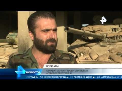 Боевики ИГИЛ закопались в тоннели, чтобы спастись в Сирии