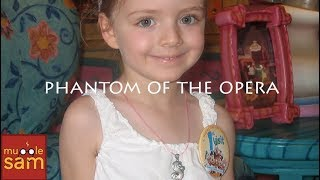 THE PHANTOM OF THE OPERA | 4-Year-Old Sophia | Mugglesam Babies