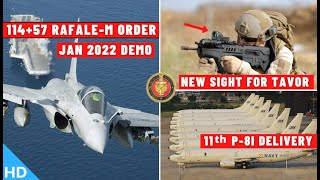 Download Indian Defence Updates : 57 Rafale-M Order,New Sight For Tavor,11th P8I Delivery,Heron MK2 Arunachal