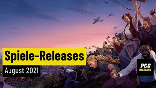 Spiele-Releases im August 2021   Für PC und Konsolen