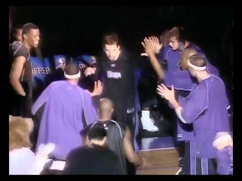 2003-2004 NBA Playoffs - Kings vs Mavericks - Game 2 -  Player Introductions