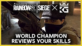 Rainbow Six Siege: King George Reviews Your Gameplay Clips | Ubisoft [NA]