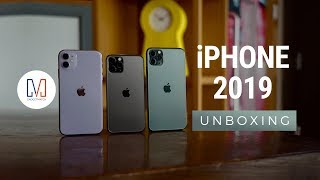 iPhone 11, 11 Pro and 11 Pro Max Unboxing