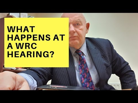 What Happens at a WRC Hearing?