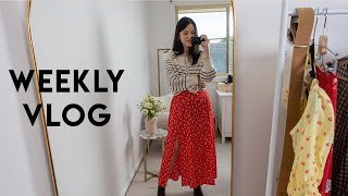 Weekly Vlog #1 | Current Hair \u0026 Makeup Routine + Ikea Trip