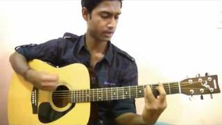 tujhko jo paya (mera bina) guitar (unplugged) - crook.mp4