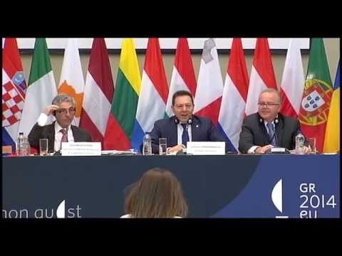 Informal ECOFIN, Press Conference, Athens 02.04.2014 - Day 2