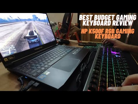 Best Value RGB Gaming Keyboard | HP K500F Gaming Keyboard Review