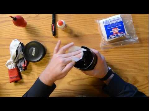 Cleaning your DSLR Lens