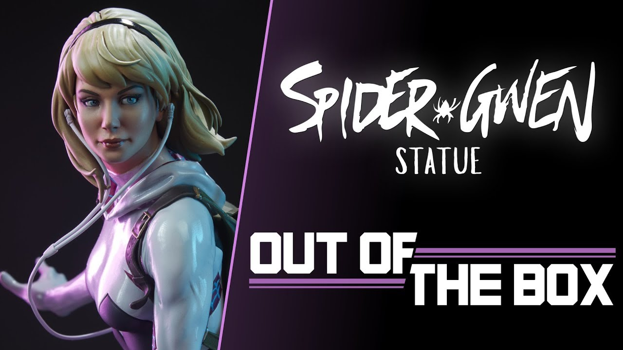 Spider-Gwen Statue: Out of the Box (Unboxing)