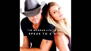 Download Tim McGraw & Faith Hill - Speak To A Girl MP3 song and Music Video