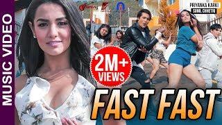 Priyanka Karki's FAST FAST | Official Music Video ft. Sunil Chhetri by Shankar Smile, Sumi Chamling