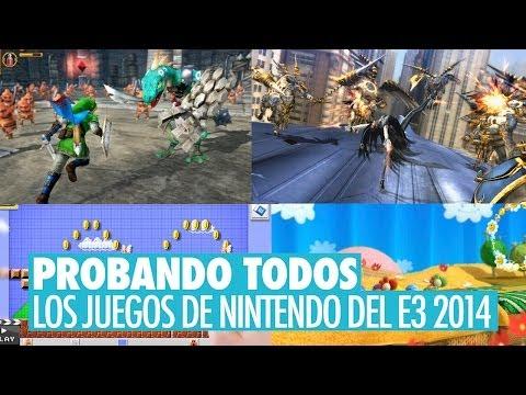 PROBANDO TODOS LOS JUEGOS DE NINTENDO DEL E3 2014