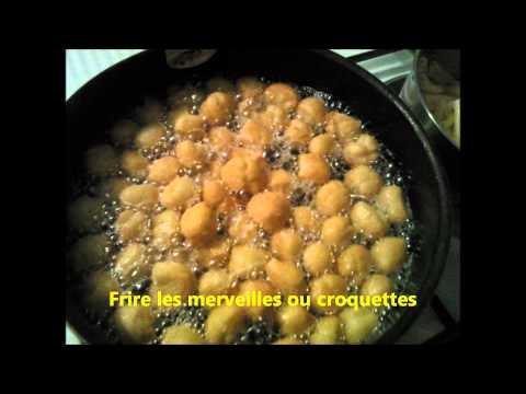 recette croquettes ou merveilles