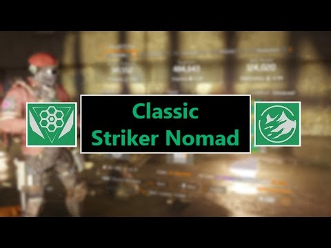 The Division - Classic Striker Nomad w/ 6 Cache Resistance on Powerhouse