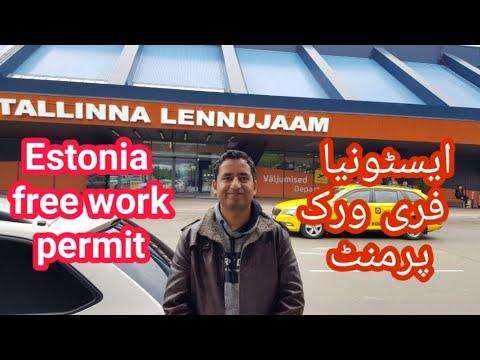 Estonia free work permit
