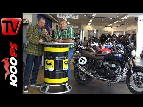 ZONKOs Corner Triumph Scrambler Umbau, IL Moto, Conti