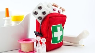 видео Мед аптечки: футляр аптечки, контейнер аптечка, медицинская аптечка для медикаментов