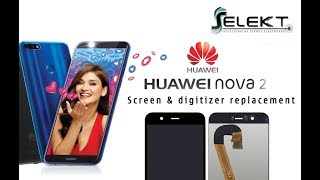 Huawei Nova 2 (Pic-LX9) Glass Touch Screen and LCD Replacement DIY Tutorial
