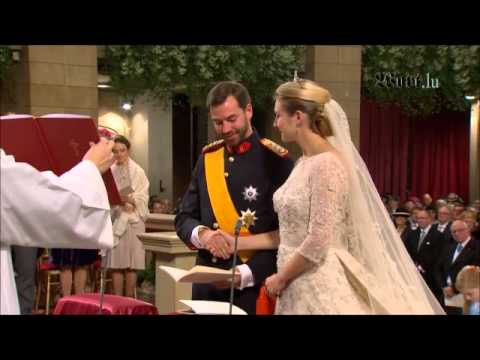 Royal Wedding in Luxembourg 2012 - Prince Guillaume and Countess Stephanie