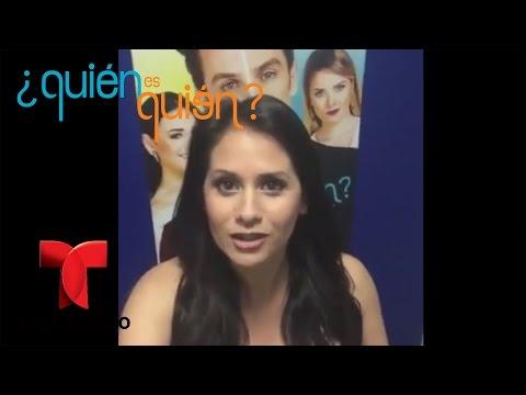 ¿Quién es Quién | Silvana Arias nos cuenta su experiencia en la novela | Telemundo
