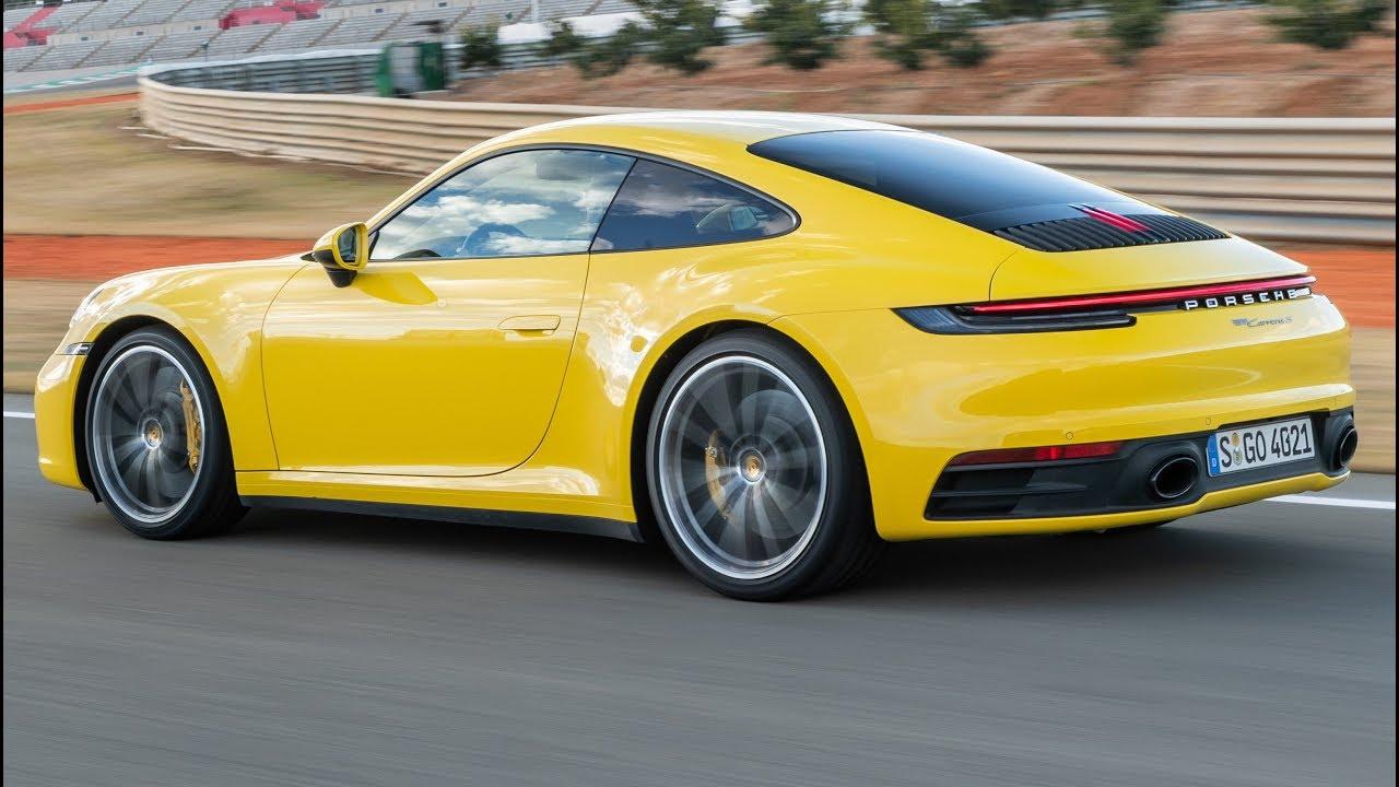 2020 Yellow Porsche 911 Carrera S Sportier And More Comfortable Youtube
