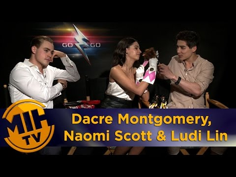 Dacre Montgomery, Naomi Scott & Ludi Lin Power Rangers Interview
