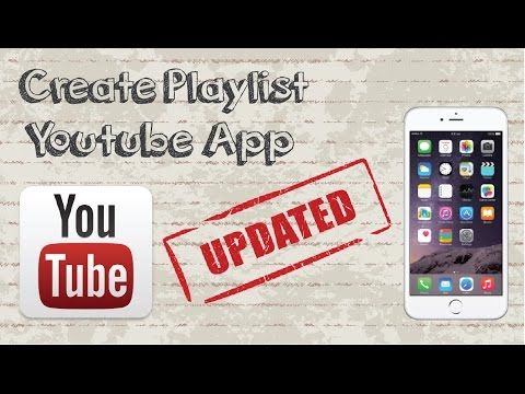How to Create Playlist on Youtube Mobile App - Updated Video