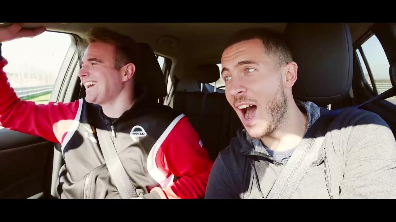 ¿Qué ocurre cuando Eden Hazard prueba por primera vez su Nissan LEAF?