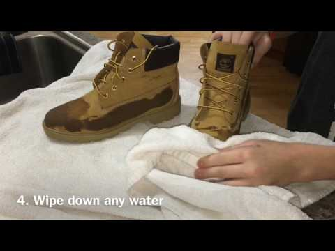 How To Clean/maintenance Timberlands