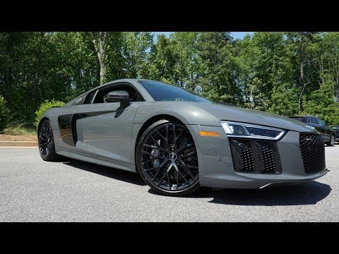 2018 Audi R8 V10 PLUS: Start Up, Exhaust, Test Drive and Review