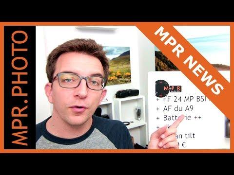 9 Boîtiers, 16 Objectifs... des MPR NEWS MONSTRE !!!